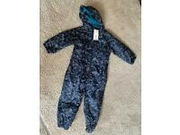 Dinosaur all in one suit 5-6 yrs