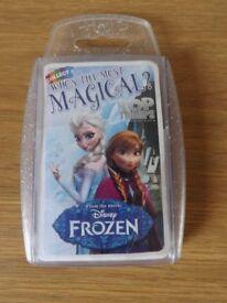 Disney Frozen Top Trumps Game