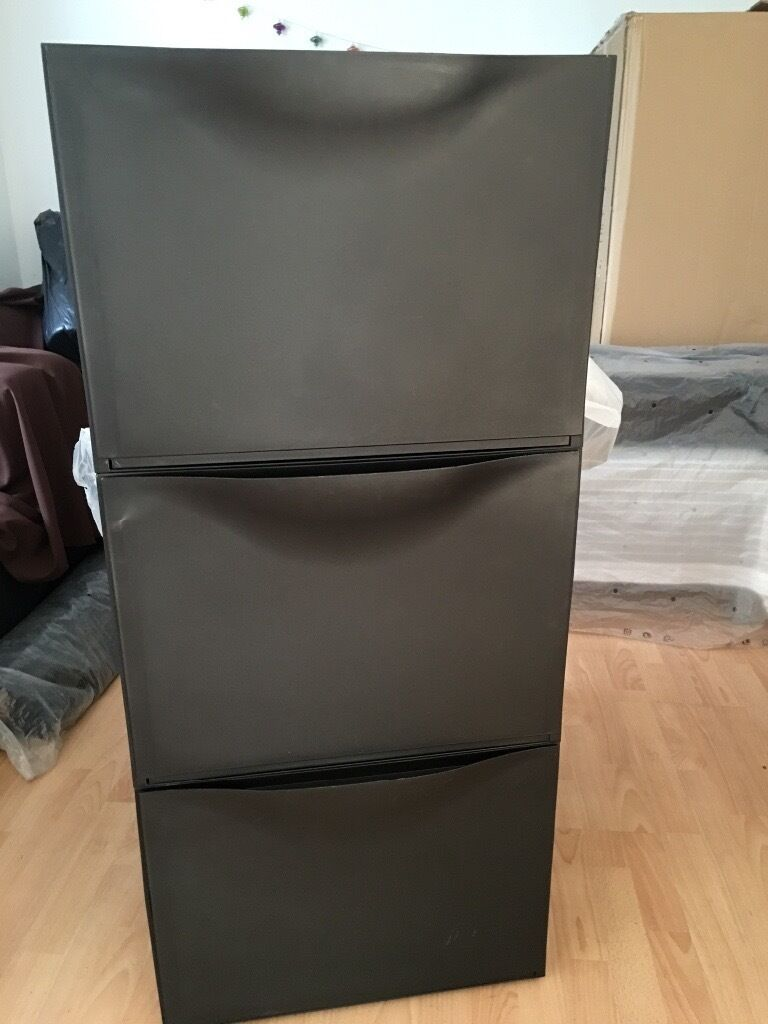 IKEA TRONES black shoe cabinet storage in Wortley, West Yorkshire Gumtree
