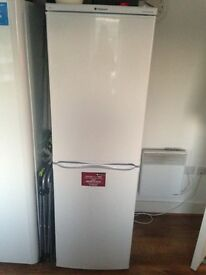 Large Hotpoint fridge freezer