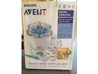 Philips Avent digital steam steriliser