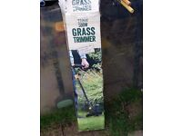 Tesco Corded Edging Grass Trimmer with 30cm Cutting Width 500W - Green A