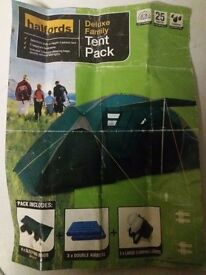 Tent Pack for 4 people