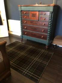 Large tartan rug (nearly new) unmarked £40