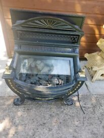 Venitian Gas fire, excellent condition & working order
