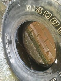 Discovery tyre