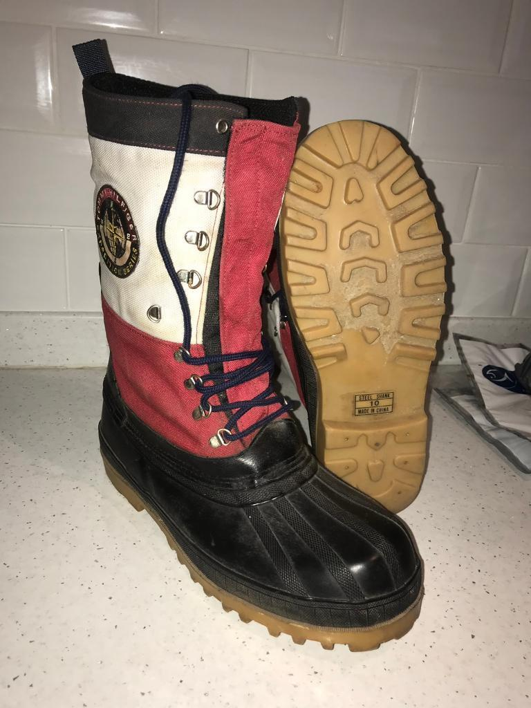 2ead24fd4d6a4 Tommy Hilfiger expedition series winter boots ‼️size UK 9 (US10M) steel  shank Very rare offers
