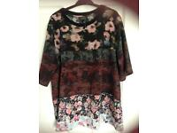 Topshop top size 12