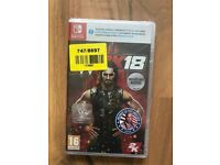 WWE 2K18 (Nintendo Switch) , brand new & sealed ! price stands !!!!! MAY SWAP