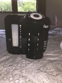 Never used tommee tippee perfect prep machine