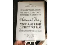 Wedding Table poems