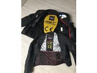 Ladies motorbike jacket with armour size small