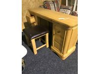 ExDisplay dressing table and stool