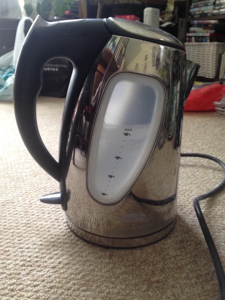 Chrome Breville kettle