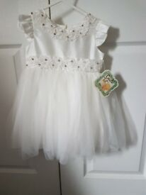 Brand new designer couche tot dress size 18-24m
