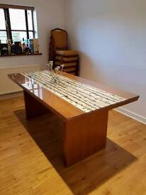 Superb Luxury Retro Urban Style Dining Room Table