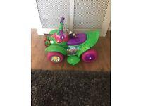 For sale : 6V Kid Trax Flower Quad