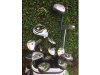 Golf clubs full set