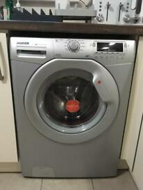 Hoover Dynamic 7 DYNS7144D1S Washing Machine, 7 Kg Load, 1400 RPM Spin, Silver, A+ Energy