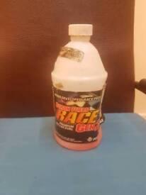 PREMIUM R/C CAR FUEL byron fuels race gen 2 A BIT LEFT IN BOTTLE