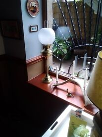 Working oil lamp