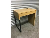 FREE DELIVERY OAK DESK WITH DRAWER GREAT CONDITION