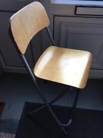 Ikea folding breakfast bar chair