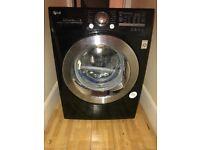 Stunning LG Black Washing Machine