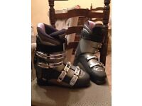 Nordica Ski Boots Size 7 FOR SALE