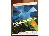 EDEXCEL A-Level Economics book