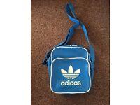 Adidas blue side bag/ satchel bag