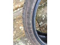 1 x GOODYEAR EAGLE ASYMMETRIC 2 in good condition. 225/40/R18/92Y - 5mm tread