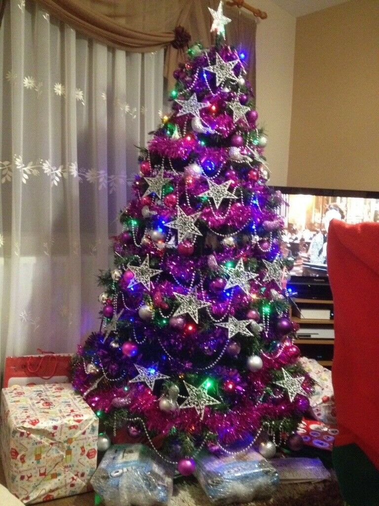Christmas tree with decorations