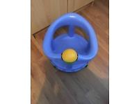 Infant bath seat blue