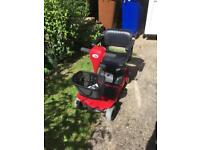 Mobility scooter used once brand new batteries fitted