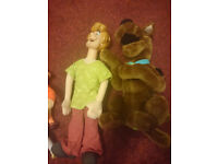 Scooby Doo plush collection.