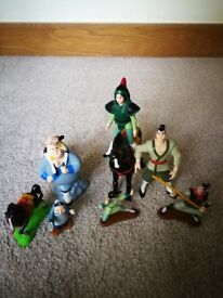 Mulan Toy Figures