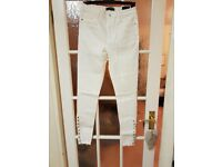 Missguided Ladies White Jeans