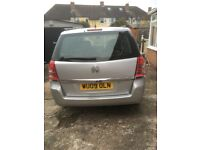 Vauxhall zafira 1.6 petrol Mor