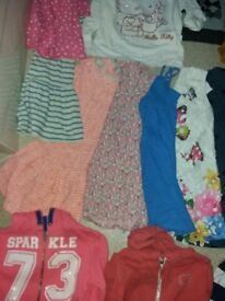 Large girl clothes bundle 5-6 years