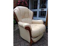 Armchair - Italian leather X 2