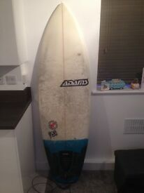 "Adams 6,2"" board, bag and leash"
