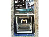 Braun Series 3 (5000 series) replacement Foil & Cutter - new