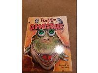 Goggle eyes dinosaur book hardback