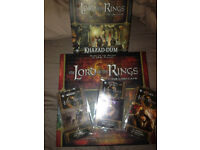 Good as new lord of the rings card game with some expansions!
