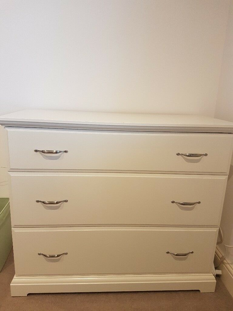 Ikea Birkeland Chest Of 3 Drawers White