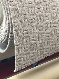 Cheap Carpets- with felt-back cushion underneath - Supply and Delivery Only