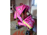 Gorgeous Girls Double Buggy