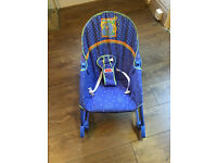 Fisherpice rocker and vibrating chair