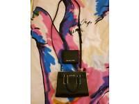 Genuine Michael Kors ladys wallet & small Tote/messenger bag.